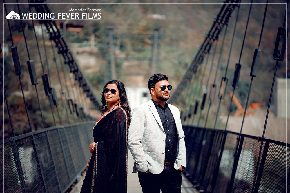 shivpuri bridge pre-wedding shoot in rishikesh