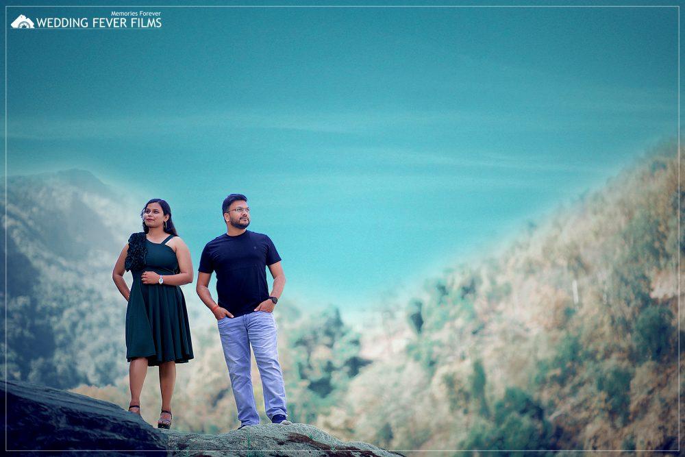 sky view pre-wedding shoot rishikesh